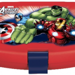 AVENGERS POWERFUL JR LATCH 2 SANDW BX