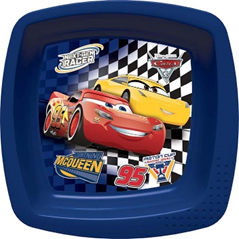 CARS 3 FAST FRIENDS SQUARE SHAPED BOWL