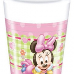 BABY MINNIE PLASTIC CUPS 200ML