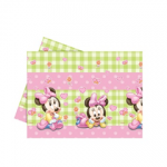 BABY MINNIE PLASTIC TABLECOVER 120X180CM