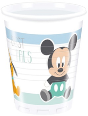 MICKEY INFANT PLASTIC CUPS 200ML