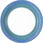 MOROCCO PAPER PLATES LARGE 23CM