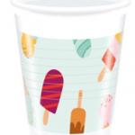 ICE CREAM PASSION PLASTIC CUPS 200ML