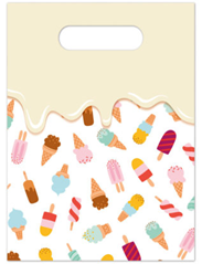 ICE CREAM PASSION PARTY BAGS 6CT