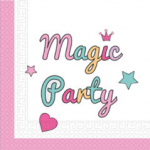 MAGIC PARTY TWO PLY PAPER NAPKINS 33X33CM