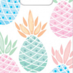 PINEAPPLE PARTY BAGS 6CT