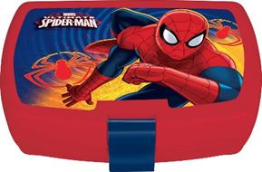 SPIDER-MAN GO JR LATCH 2 SANDW BX