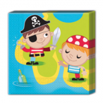 PIRATE TREASRE HUNT TWO PLY PAPR NPKN 33X33CM