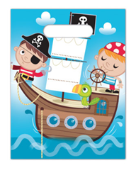 PIRATE TREASRE HUNT PARTY BAGS