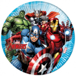 MIGHTY AVENGERS PAPER PLATES LARGE 23CM