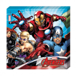 MIGHTY AVENGERS TWO PLY PAPER NAPKINS 33X33CM