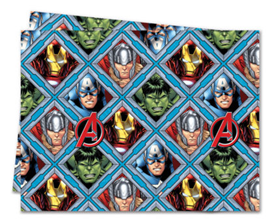 MIGHTY AVENGERS PLASTIC TABLECOVER 120X180CM