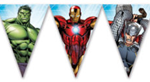 MIGHTY AVENGERS TRIANGLE FLAG BANNER