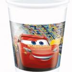 CARS 3 PLASTIC CUPS 200ML 8CT