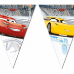 CARS 3 TRIANGLE FLAG BANNER