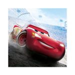 CARS LEGEND OF TRACK TWO PLY PPR NPKN 33X33CM 20ct