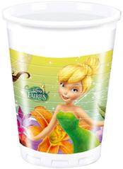 FAIRIES MAGIC PLASTIC CUPS 200ML