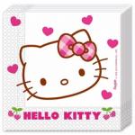 HELLO KITTY HEARTS 2PLY PAPER NAPKINS 33X33CM