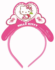 HELLO KITTY HEARTS TIARAS