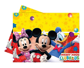 PLAYFUL MICKEY PLASTIC TABLECOVER 120X180CM