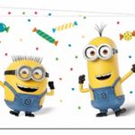 MINIONS BALLOON PARTY PLASTIC TCOVER 120X180CM