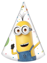 MINIONS BALLOON PARTY HATS
