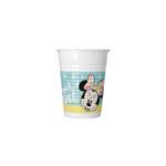 MINNIE TROPICAL PLASTIC CUPS 200 ML