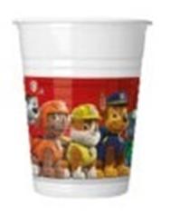 PAW PATROL RDY FR ACTION PLASTIC CUPS 200ML