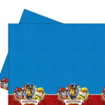 PAW PATROL RDY FR ACTION PLASTIC TABLE COVER 120X180CM