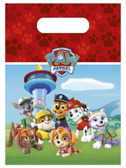 PAW PATROL RDY FR ACTION PARTY BAGS 6CT