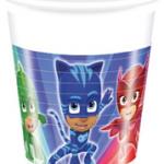 PJ MASKS PLASTIC CUPS 200ML