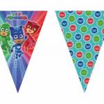 PJ MASKS TRIANGLE FLAG BANNER