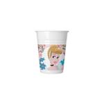 PRINCESS DARE TO DRM PLASTIC CUPS 200ML