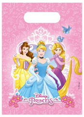 PRINCESS HEARTSTRONG PARTY BAGS 6CT