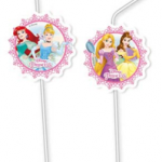 PRINCESS HEARTSTRONG MEDAL FLEXI DRINKNG STRAW