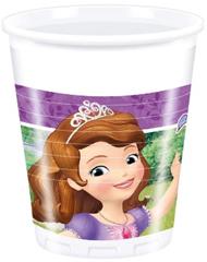 SOFIA MYSTIC ISLES PLASTIC CUPS 200ML