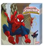 ULTIMATE SPIDERMAN WEB WAR 2PLY NPKN 33X33CM