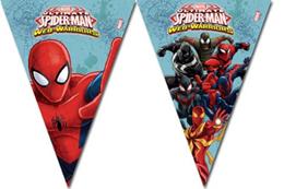ULTIMATE SPIDERMAN WEB WARS TRIANGLE FLAG BANN