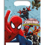 ULTIMATE SPIDERMAN WEB WARRIORS PARTY BAGS A
