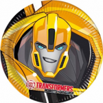 TRANSFORMERS POWER UP PAPER PLATES LARGE 23CM