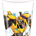 TRANSFORMERS POWER UP PLASTIC CUPS 200 ML