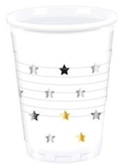 MILESTONE STARS  PLASTIC CUPS 200ML