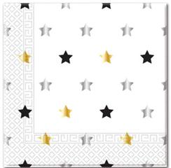 MILESTONE STARS  TWO PLY PAPER NAPKINS