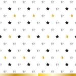 MILESTONE STARS  PLASTIC TABLECOVER 120X180CM
