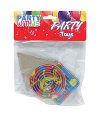 PARTY FAVOUR ANIMAL MAZE GAME