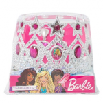 BARBIE TIARA WITH EARRINGS IN PVC BOX