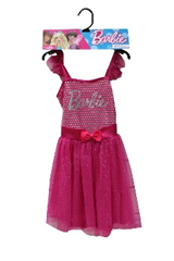 BARBIE PINK SILVER DOT DRESS AGE 5 – 6