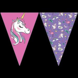 MINNIE UNICORN TRIANGLE FLAG BANNER 9FGS
