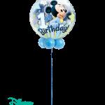 Disney Mickey 1st Birthday Bubble