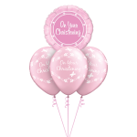 On Your Christening Pink Layer